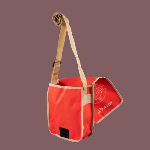 shoulder bag O ti le la la e ravann (orange)