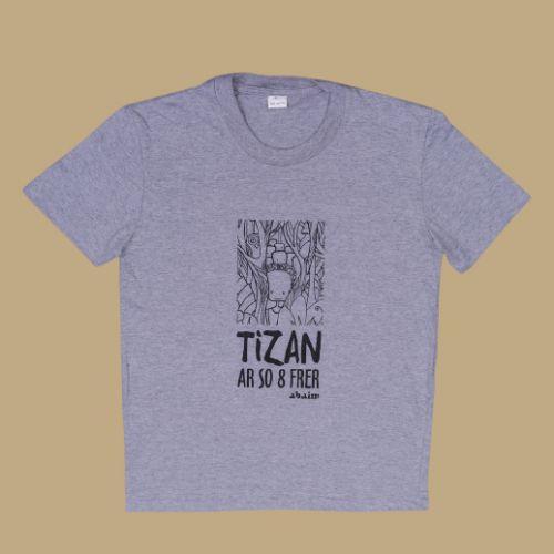 tshirt tizan ar so 8 frer 2018