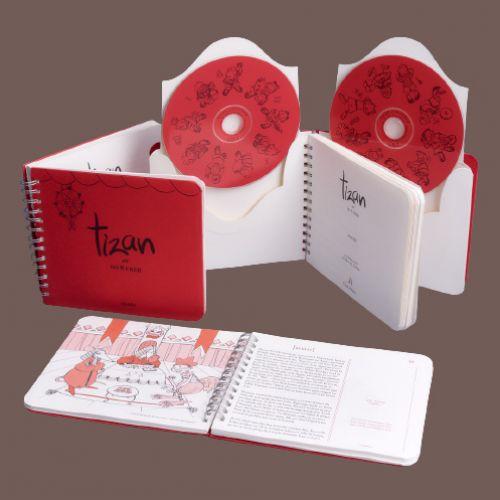 Tizan ar so 8 frer ( CD/BOOK)