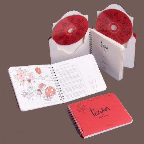 Tizan ar 8 frer ( CD/Book)